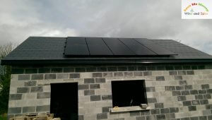 2.5kWP Solar PV System Commissioned - Co. Portlaoise