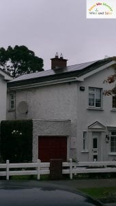 2kWP PV Array Installation at Malahide