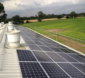 This 50kWP Solar PV System will Generate 50,000kWH Electricity per Year for its Owner in the Next 25 Years.