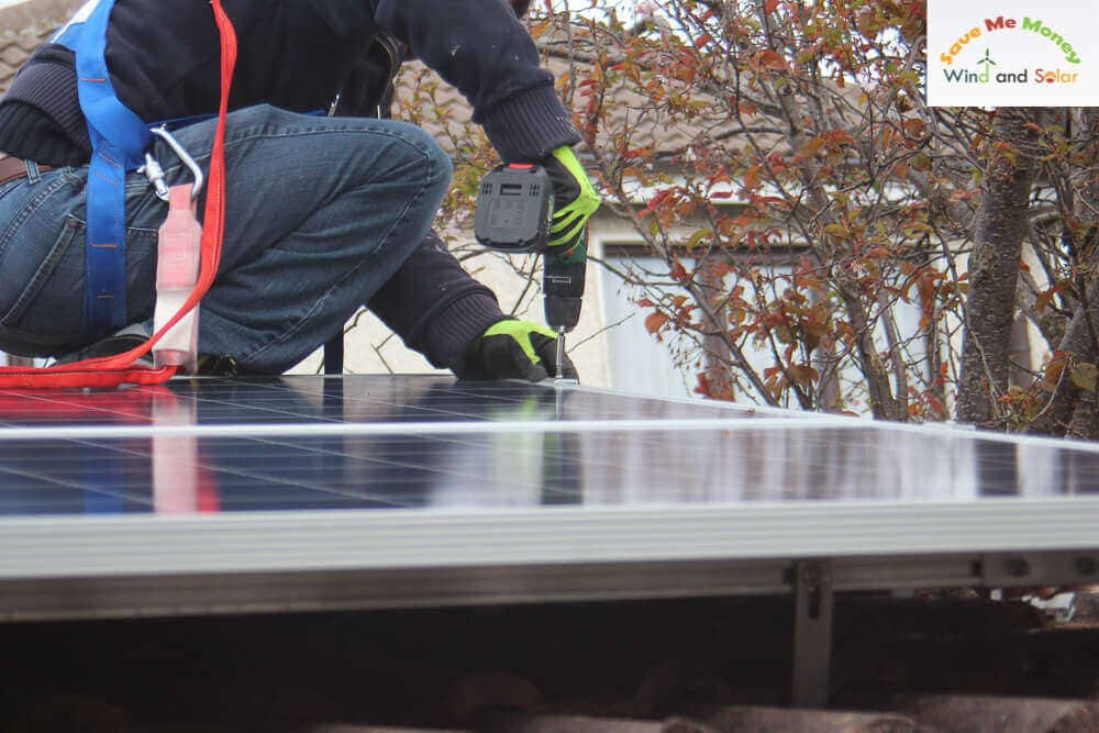 Securing Solar PV Panel Modules on Roof