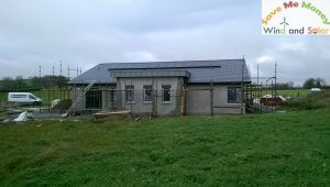 3.57kWP Mono Crystalline Solar PV Array Install in Co. Meath