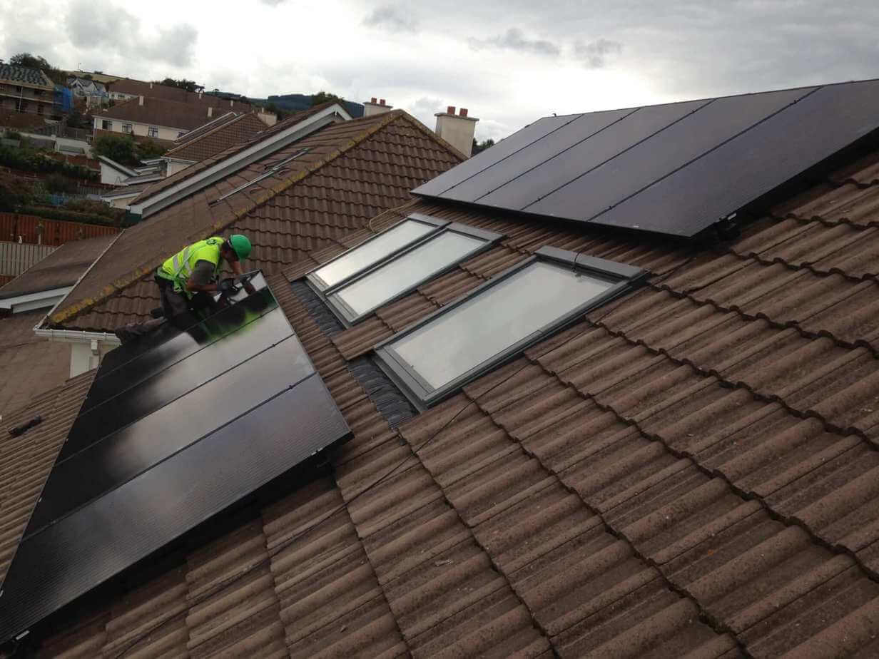 3.9kWP PV Install After
