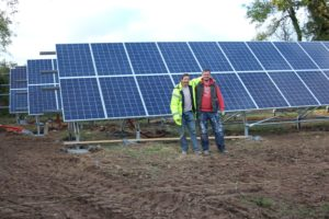 30kWP Ground Mounted PV with Fronius ECO Inverter