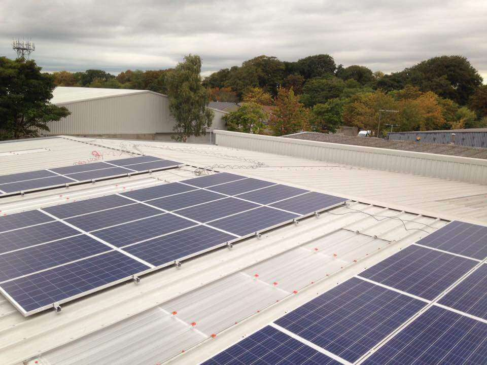 40 PV SME PV Array Completed in Santry