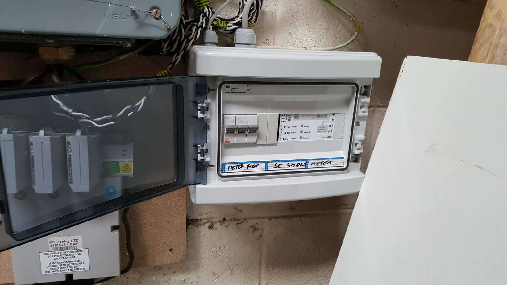 40 PV SME SolarEdge Three Phase Smart Meter Installed in Santry, Co. Dublin