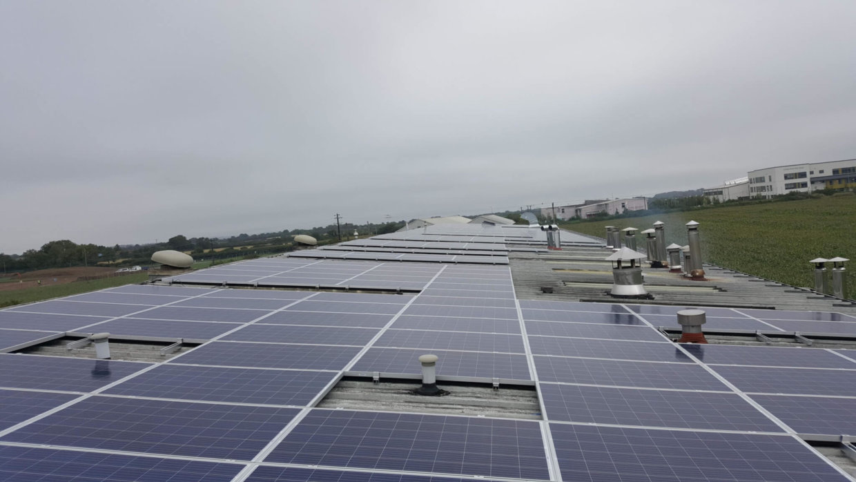 SME Solar PV Rooftop Installation in IReland - Commercial Solar PV Panels