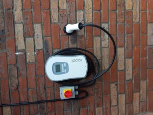 Zappi Car Charger Installed for a New Nissan Leaf in Greystones