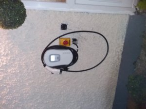 Zappi Type 1 Car Charger Installed for a New Nissan Leaf in Dún Laoghaire by SaveMeMoney