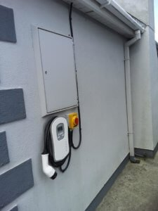 Zappi Type 2 Car Charger Installed in Wicklow for a Kia E-Nero by SaveMeMoney