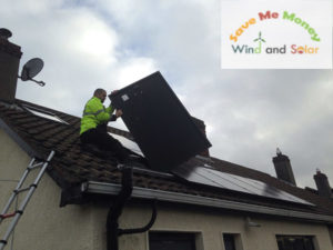 7 PV solar system with Solax, Monkstown
