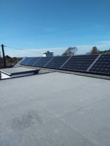 7 Solar PV Panel with Solax Inverter at Deerpark Road