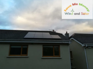 7 solar PV system with Solax inverter, Delgany